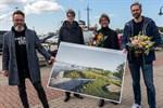 Grüne Dünen für Rostocks Stadthafen