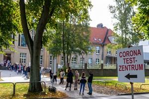 Keine Bundesnotbremse trotz Inzidenz über 100 in Rostock (Symbolfoto, Archiv)