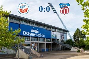 Hansa Rostock und Zwickau trennen sich 0:0 (Symbolfoto: Archiv)