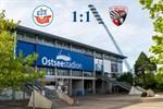Hansa Rostock und Ingolstadt trennen sich 1:1