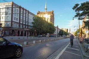 Lange Straße: Radfahrstreifen kommt zurück