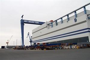 MV Werften erhält WSF-Kredit (Foto: Archiv)