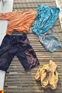 Herrenlose Bekleidung am Warnemünder Strand aufgefunden