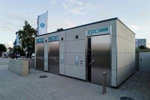 Neue Toiletten in Warnemünde