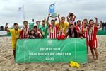 Beach Royals Düsseldorf gewinnen Beachsoccer-Meisterschaft