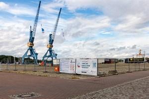 Hanse Sail 2021: Das Hauptveranstaltungsgelände im Stadthafen Rostock ist eingezäunt und auf 15.000 Besucher begrenzt