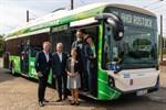 Erste Elektrobusse für Warnemünde