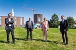 Stadtwerke Rostock - Richtfest für Wärmespeicher