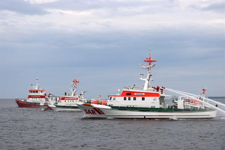 """Abschied vom Seenotrettungskreuzer """"Vormann Jantzen"""""""